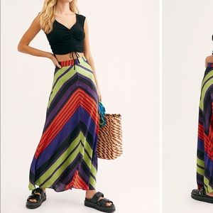 Free people rio maxi skirt